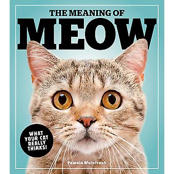 Meaning Of Meow by Pamela Weintraub