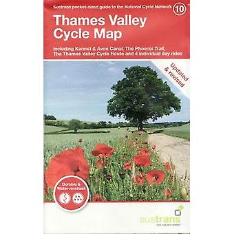 Thames Valley Cycle Map - Including Kennet & Avon Canal - The Phoe