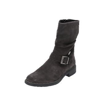 Judge's boots kids girls boots grey lace-up boots winter