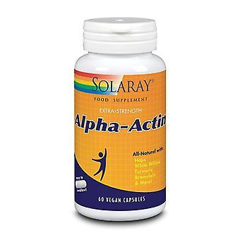 Solaray Alpha-Actin kapselit 60 (75450)