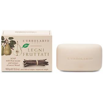 L'Erbolario Fruit and Fragrance Wood Soap 100 gr