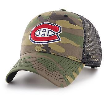 47 palo Snapback lippis - BRANSON Montreal Canadiens camo