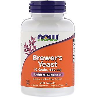 Brewer's Hefe 650 mg (200 Tabletten ) - Now Foods