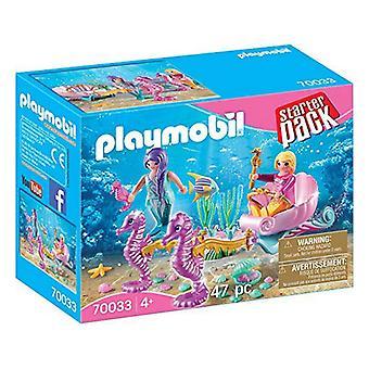 Playset Starter Pack Playmobil 70033 (47 buc)