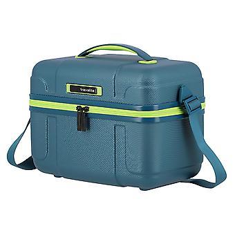 travelite Vector Beautycase 36 cm, 20  L, Petrol/limone