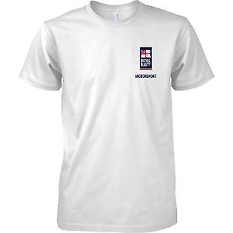 RN Motorsport Logo 2 - Marine royale Sport T-Shirt couleur
