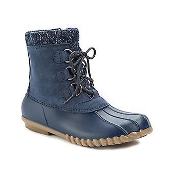 الفخاخ عارية Women & apos؛s أحذية المطاط رائع اللوز توب أحذية الموضة الكاحل