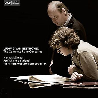 Beethoven / Minnaar / Vriend - Beethoven: The Complete Pia Concertos [SACD] USA import