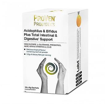 ProVen Probiotics Acidophilus & Bifidus Plus Intestinal & Digestive Support Sachets 14 (PR12)