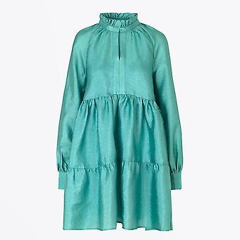 Stine Goya - Robe texturée Jasmine - Aqua