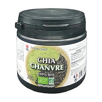 Organic hemp chia protein 200 g