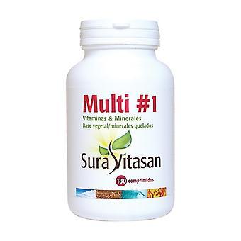 Multi # 1 vitaminen en mineralen 180 tabletten