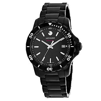 Movado Men's Series 800 Black Dial Watch - 2600143