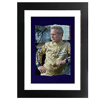 TV Times Paul Newman Race Suit 1974 Framed Print