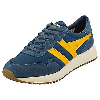 Gola Vancouver Naisten Casual Trainers Navy Sun