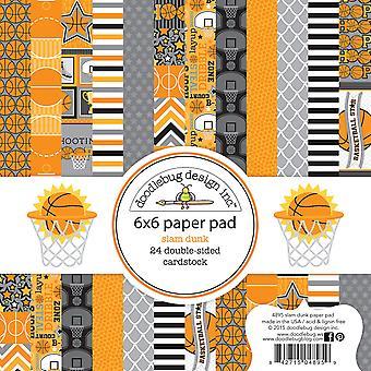 Doodlebug Design Slam Dunk 6x6 Inch Paper Pad