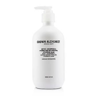 Kasvanut alkemisti Detox-shampoo 0,1 500ml/16.9 oz