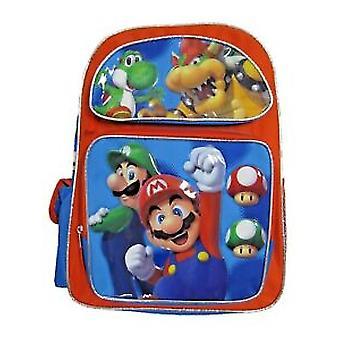 Backpack - Nintendo Super Mario - Mario/Luigi Jump New 206394