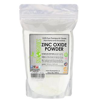 Sky Organics, 100% Pure Therapeutic Grade, Zinc Oxide Powder, 16 oz (454 g)