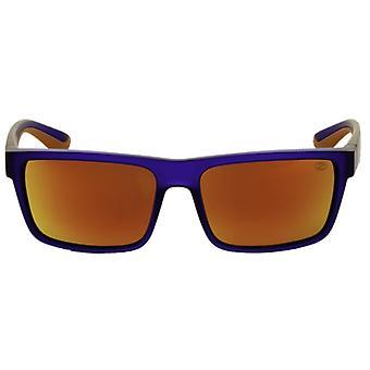 Slnečné okuliare Unisex Sport tmavo modrá / oranžová