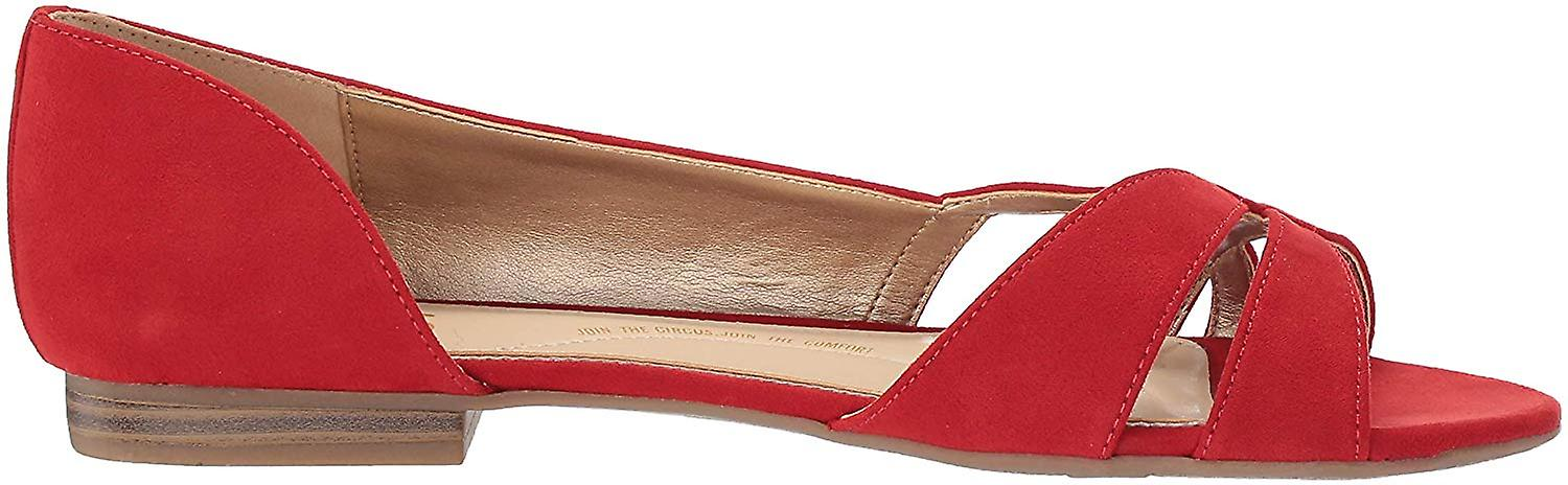 Circus by Sam Edelman Womens Edelman Fabric Open Toe Formal Slide Sandals