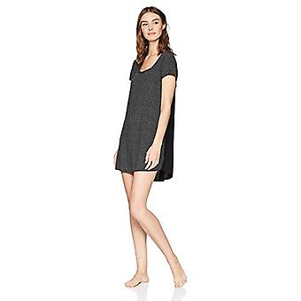 Brand - Mae Women's Sleepwear Scoop Neck Nightgown,Uneven Spots,Large