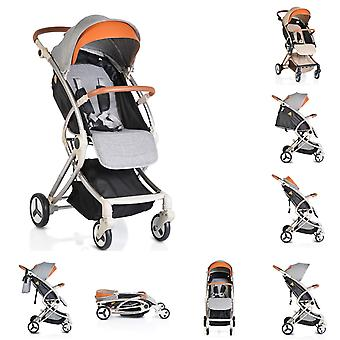 Cangaroo stroller Buggy Siri, foldable, adjustable backrest, foot guard