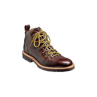 Barker Glencoe - Grano Marrón Oscuro (Dark Brown Grain) Botas de cuero hechas a mano para hombre ? Zapatos Barker