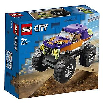 Playset City Monster Truck Lego 60251