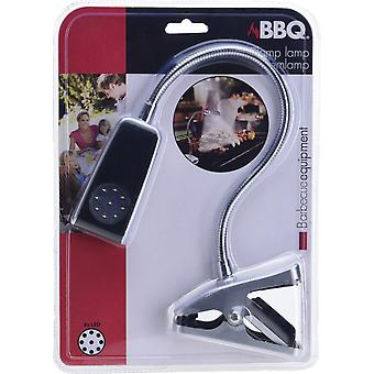 Grilllampe 10 x 4,5 cm ABS zilver