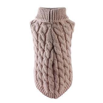 Winter Sweater Small Dog Clothes For Pet Puppy Knitting Crochet Cloth