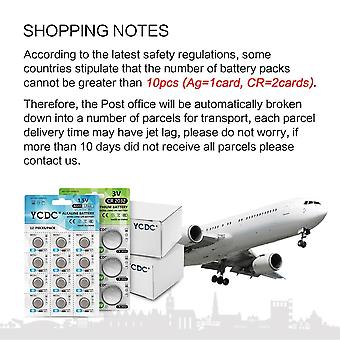 Ag13 Coin Cell Battery Lr44/357/357a/s76e  Alkaline Button Batteries 1.5v For Watch Electronic Remote