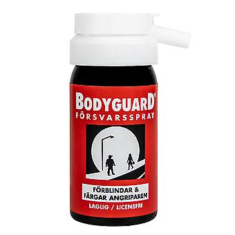 Bodyguard Defense Spray Original Red, blinds and colors