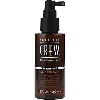 American Crew Men Fortifying Scalp Treatment (Invigorating Leave-in Scalp Treatment) 100ml/3.3oz