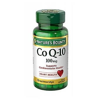 Nature's Bounty Co Q-10, 100 mg, 12 X (60 Caps + 60 Caps)