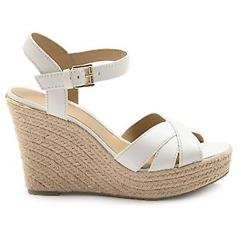 Sandal Michael Kors Suzette Vit Med Rep Wedge