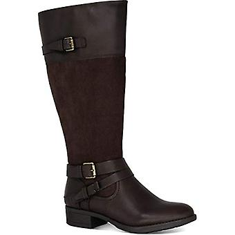 Style & Co. Womens Ashliie Faux Leather Fashion Dress Boots