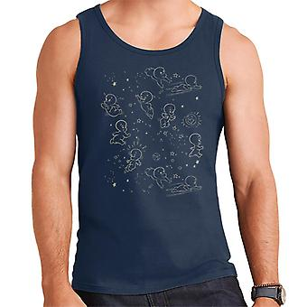 Casper The Friendly Ghost Night Stars Men's Vest