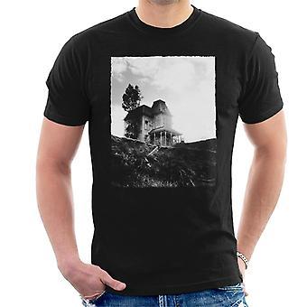 Psycho Establishing Shot Of Norma Bates Home Men's T-Shirt
