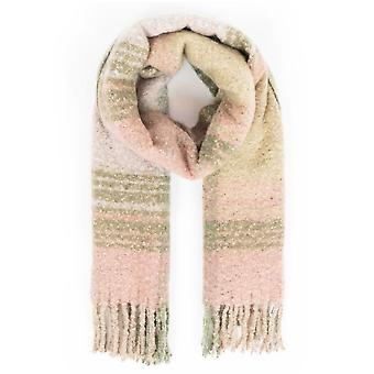Powder Maggie Knitted Scarf | Moss Mix