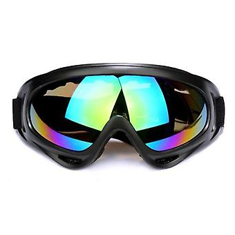 Protection Outdoor Cycling Pc Lens, Large Frame Glasses Mountain Bike Goggles