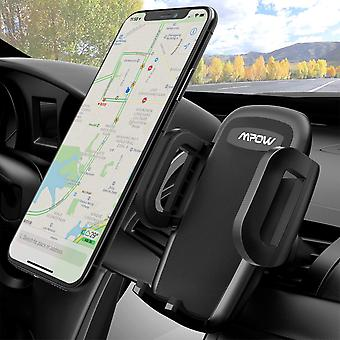 Mpow car mount, universal air vent phone holder adjustable car cradle with one button release and 36