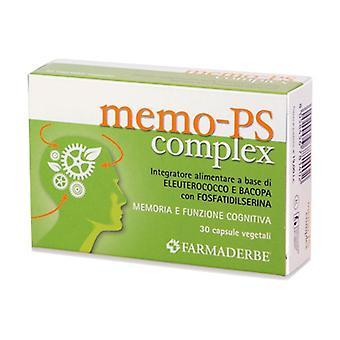 MEMO-PS COMPLEX 30CPS None