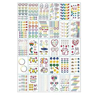 Reusable Tattoo Sticker Temporary Tattoo Stencil Glitter Paint Tattoo For Face