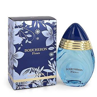 Boucheron Fleurs Eau De Parfum Spray By Boucheron 3.3 oz Eau De Parfum Spray