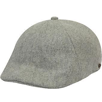 Neue Ära Herren EK Kollektion 2019 Wolle Duckbill Flache Mütze Hut - grau