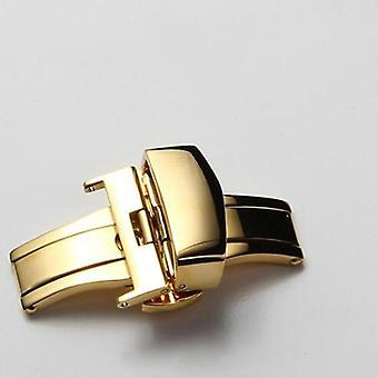 Stainless Steel Butterfly Clasp For Watch Band Replacement Strap Clasp, Belt