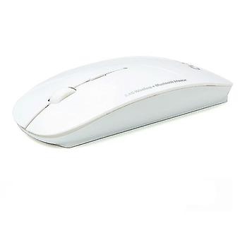 3-mode Wireless + Bluetooth, 2-in-1 Cordless Mouse, Ultra-thin Ergonomic,