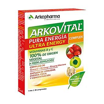 Arkovital Pure Energy Ultra 30 tablettia