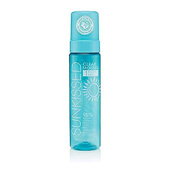 Sunkissed 95 Percent Natural Clear 1 Hour Tan Mousse 200ml